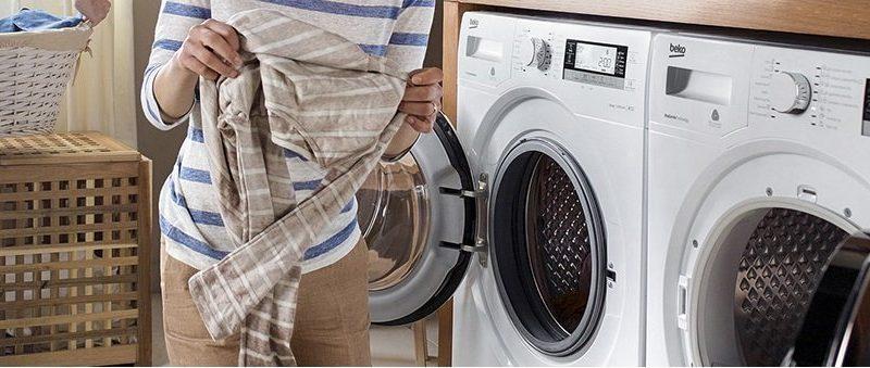 L'asciugatrice: innovativo sistema di asciugatura che rende i capi morbidi e perfettamente asciutti.